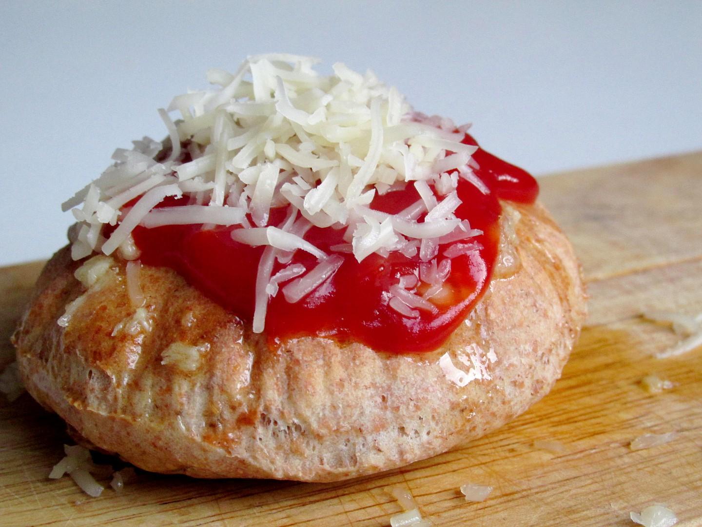 Mini domácí celozrnné langoše pečené v troubě recept ...