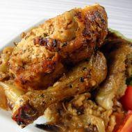 Kuře nadívané kuskusem a kaštany recept
