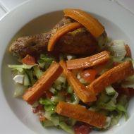 Pečená kuřecí stehna recept