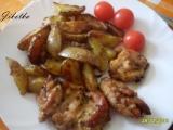 Krůtí křídla pečená s bramborami recept