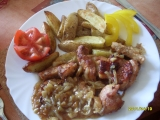 Krůtí maso na cibuli a česneku recept
