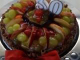 Ovocný dort s piškoty recept