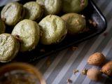 Makronky ze zeleného čaje recept
