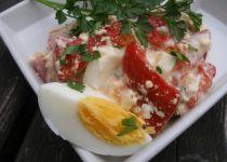 Svěží bramborový salát s tvarohem a ředkvičkami recept ...