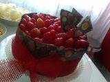 Čokoládový dort s mascarpone krémem a jahodami recept ...