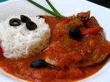 Vepřové plátky se zeleninou a olivami v PH recept