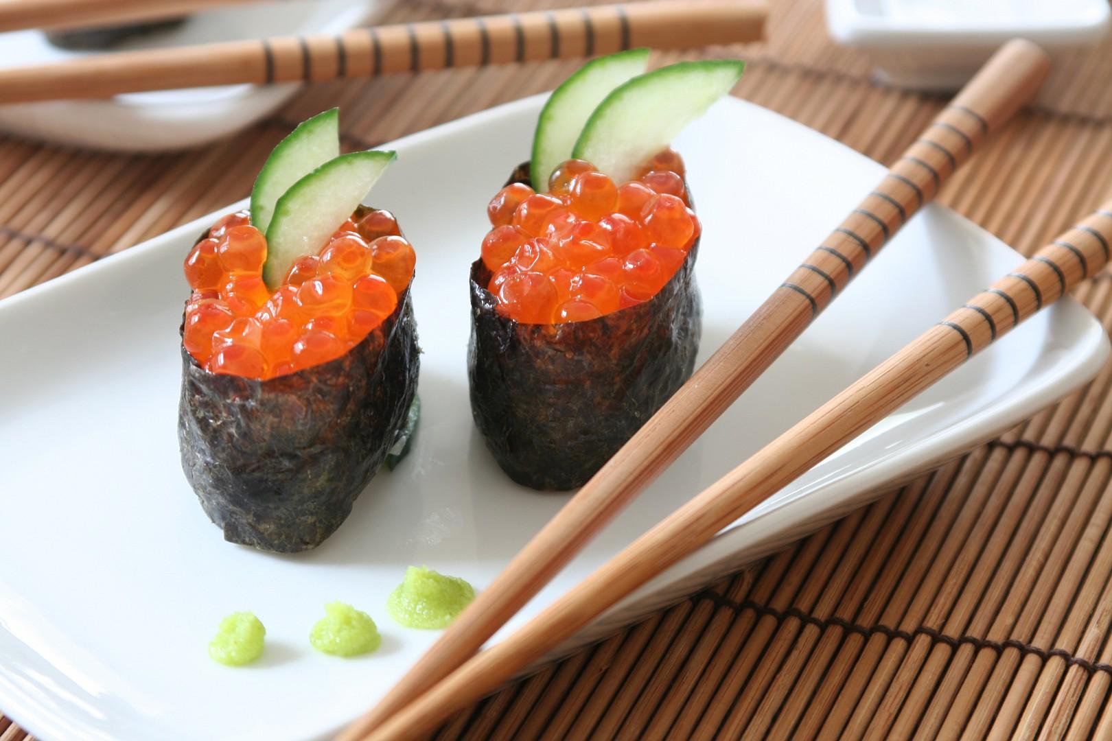 Gunkan sushi recept