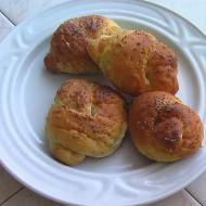 Domácí housky  uzlíky recept