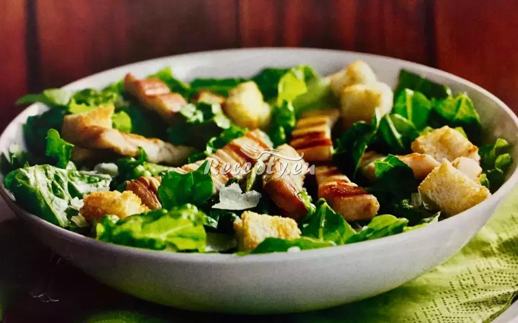 Salát Caesar podle Lenky recept  fitness recepty