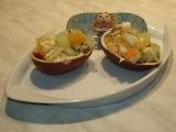 Kinder mušle (salát) recept