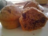 Ořechovo  čokoládové muffiny recept