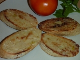 Bruschetta s pečeným česnekem recept