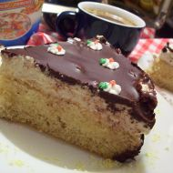 Tvarohový dort se skořicí recept
