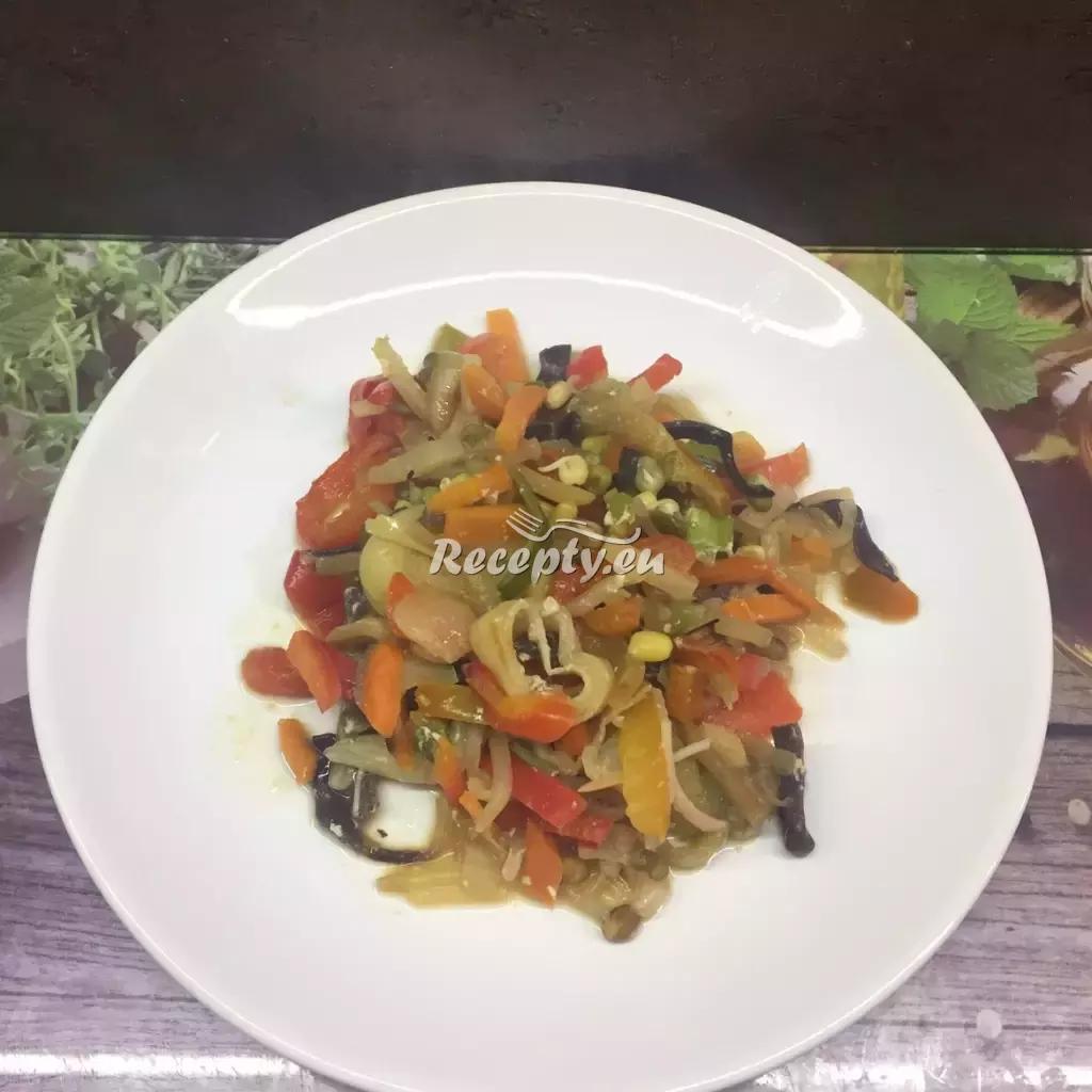 Grilovaná zelenina v troubě recept  grilování