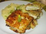 Smažený halibut v brokolicovém těstíčku s česnekovou kaší recept ...