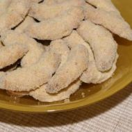 Andělské vanilkové rohlíčky recept