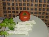 Řapíkatý celer s pomazánkou recept
