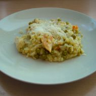 Italské rizoto s kuřecím masem recept