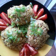 Houbové rizoto na kari recept