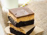 Čokoládové řezy s arašídovým máslem recept