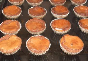 Brownies cupcake