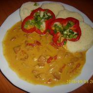 Kuřecí maso s paprikou recept