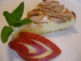 Jablkový tvarožník bez mouky recept