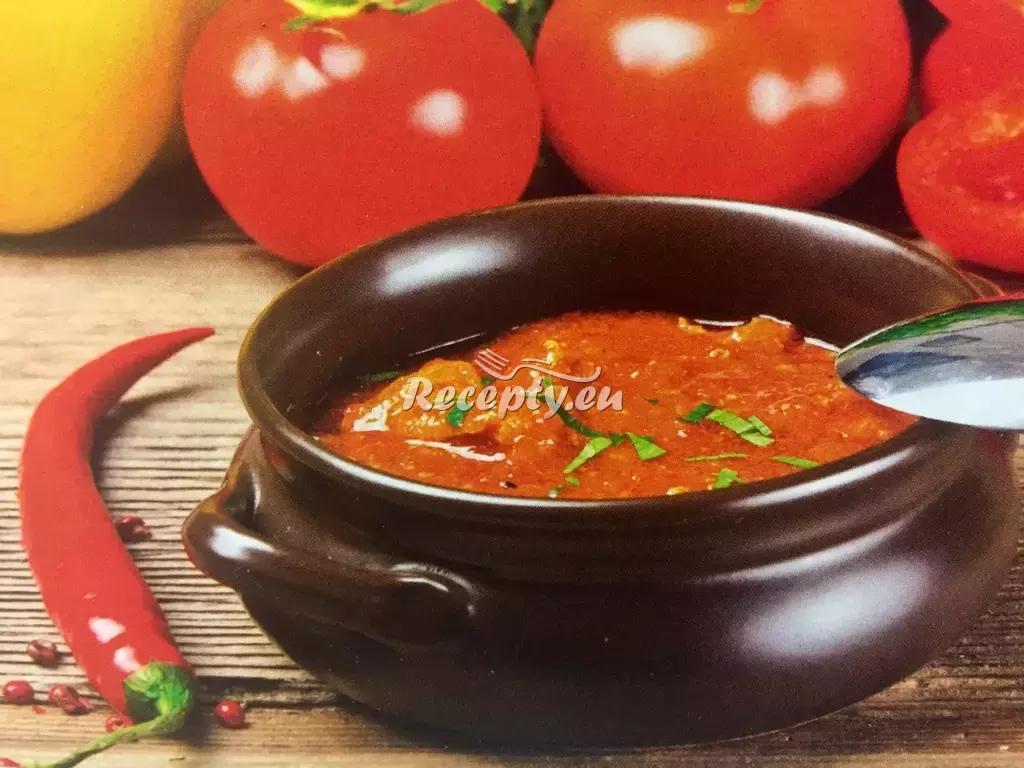Maďarský guláš recept  slavnostní pokrmy