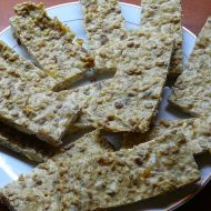 Zdravé tvarohové müsli tyčinky se skořicí recept