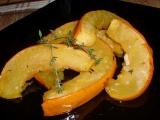 Dýně pečená s česnekem a tymiánem recept