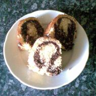 Kokosová bábovka s kakaem recept