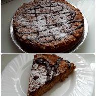 Jablkovo-skořicový koláč bez vajec a mléka recept