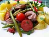 Kuřecí směs s fazolkami recept