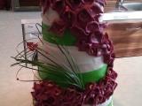 Svatební dort s kalami recept