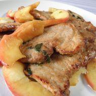 Vepřové plátky s jablky recept