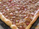 Angreštový koláč s perníkovou drobenkou recept