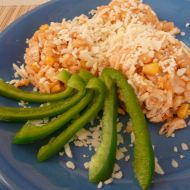 Kuřecí rizoto s lečem recept