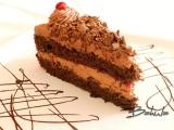 Čokoládovo-tvarohový dort recept