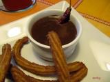 Churros s chilli čokoládou podle Dity P. recept