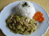 Kuřecí čína se zelím recept