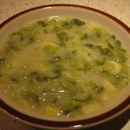 Kapustová polévka s brambory recept