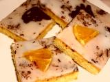 Pomerančové řezy s čokoládou recept