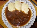Koňský guláš recept