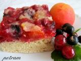 Ovocný koláč s drobenkou bez lepku, mléka a vajec recept ...