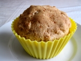 Jablkovo-skořicové muffiny bez lepku, mléka a vajec recept ...