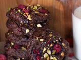 Čokoládovo  mandlovo  malinové sušenky bez mouky recept ...