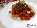 Vepřová líčka na zelenině s bramborovými placičkami recept ...