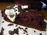 Čokoládovo  borůvkový dort recept
