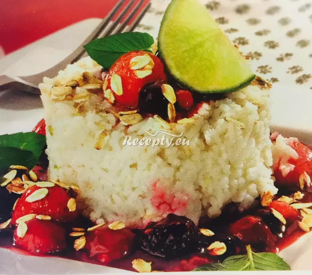 Rýžové kopečky v ovocné omáčce recept  rýžové pokrmy  Recepty ...