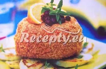 Hermelínová kapsa recept  sýrové pokrmy